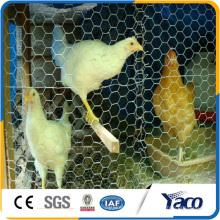 rolo sextavado galvanizado da rede de arame da galinha dos lowes do fio 0.9mm do fio para a casa de galinha