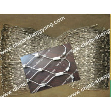 Animal farm used stainless steel rope net