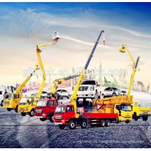 Dongfeng 5T grúa hidráulica camión nudillo grúa montada / Dongfeng grúa camión / grúa de elevación / camión grúa