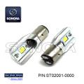 LUZ DE CABEZA LED BULD 12V - CABEZA DE LUZ BA20D 35 / 35W (P / N: ST02001-0000) CALIDAD SUPERIOR