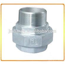 ASTM 304 Нержавеющая сталь с прямым резьбовым соединением NPT M / F (CU MF)