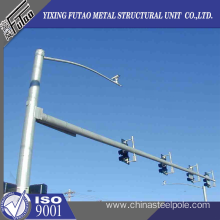 Quality for Led Traffic Signals 6m Galvanized Steel Camear Pole supply to Cameroon Factory