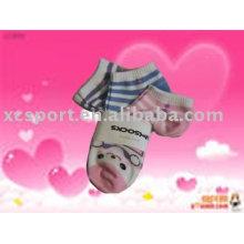 Calcetines acolchados de los niños del algodón