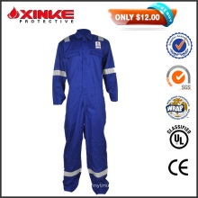 50% Discount sales Blue CN 8812 FR Coveralls with reflective tape