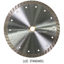 Lightning Series Turbo Diamond Saw Blade (Turbo Berterusan)