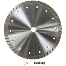 Hoja de sierra de diamante Turbo serie Lightning (Turbo continuo)
