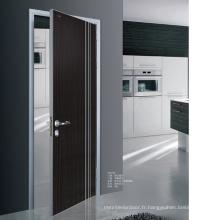 Fabrication de portes de bois extérieures de luxe