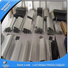 Profilé en aluminium anodisé 6063 pour porte