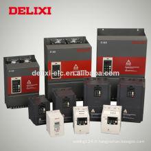 Onduleur de fréquence à CA de Delixi Vector Control pour le moteur et la pompe
