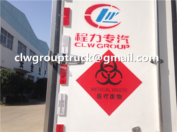 Medical Waste Disposal Truck