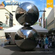 Mini miroir gonflable décoratif Silver Gold Red Disco Ball 2m Balle miroir gonflable