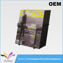 Retail Counter Top Supply Metal Magazine Holder To Loader Brochures