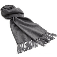 Fashion Cashmere Wool Knitted Fringe Scarf (YKY4333-3)
