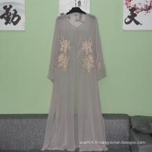Mode de vente en gros modernes dernières conceptions dubai simple abaya 2016 pour femme