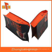 moisture proof food grade side gusset custom printed heat seal foil lined paper bags