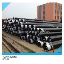 Бесшовные трубопроводные стальные трубы API 5L с черной окраской
