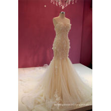 Mermaid Lace Bridal Wedding Gown Evening Gowns