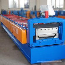 Promotion price width 470mm joint hidden steel plate machine