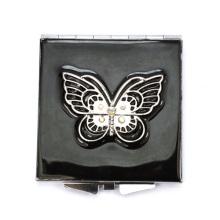 Schmetterling Schwarz kompakte Spiegel
