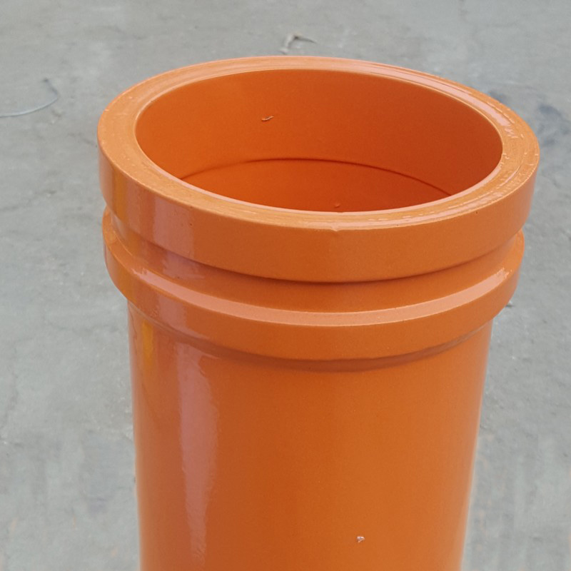 concrete pump hardened pipe