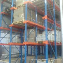 entrepôt de stockage lourd rack drive dans le système