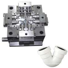 custom plastic moulding precision industry pipe molds pc abs pp ppr mould pipe fitting injection mold