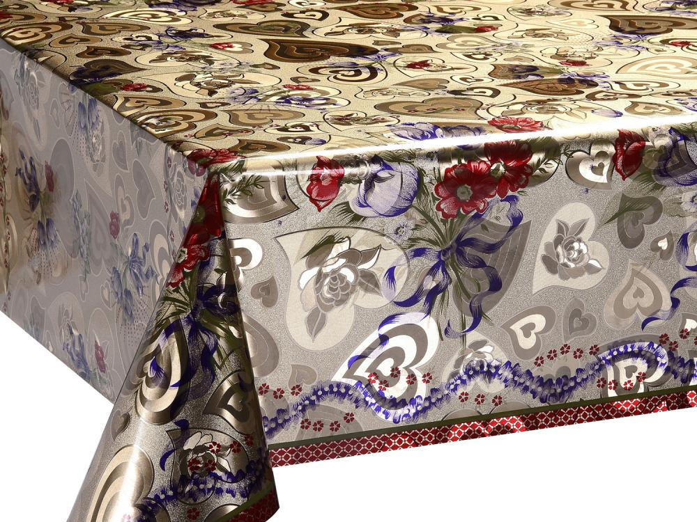 Gold And Silver Tablecloths 4
