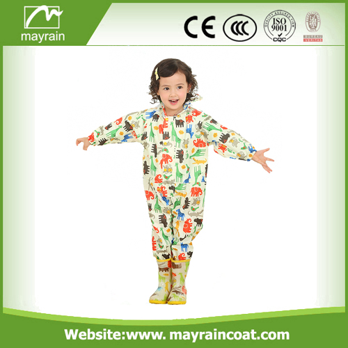 PVC Rainsuit Full Print