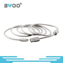 Fábrica de alta qualidade por atacado do cabo de dados de USB personalizada