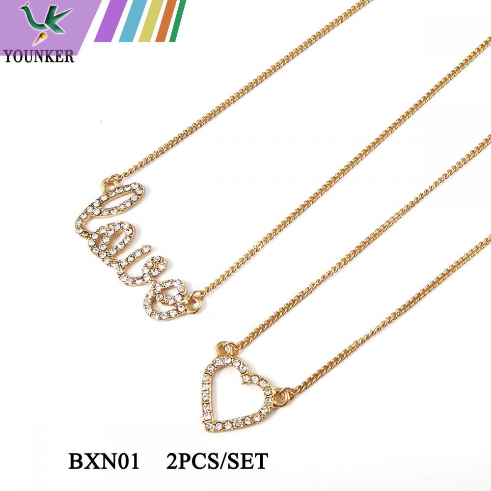 Love Necklace Set