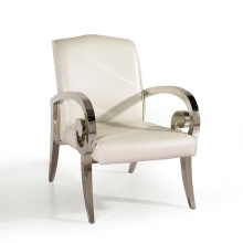 high quality antique stainless steel dinning chair