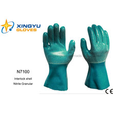 Nitrile Granular Interlock Shell (N7100)