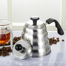 Kaffee-Tropf-Topf und Tee-Kessel mit Thermometer