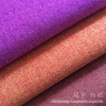 Polyester and Nylon Linen Look Fabric for Upholstery