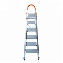 Taburete plegable / Escalera de tijera antideslizante plegable resistente de acero de alta resistencia 4 Escalera antideslizante Taburete de cocina Escalera doméstica