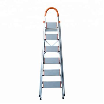 folding step stool/Foldable Heavy Duty 4 Steel Wide Step Ladder/Stepladder Non Slip Tread Safety Kitchen Stool domestic ladder