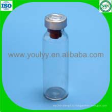 Стеклянная бутылка с металлической крышкой