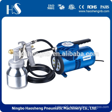 Best Selling Products Noiseless Metal Compressor Low Pressure Spray Gun
