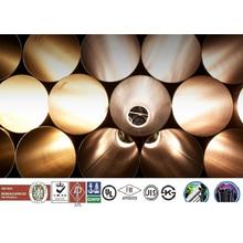 48.3mm x 4.0mm x 6m suministro de tubos de acero de andamio a JIS 3454, KS, BS, ASTM, y otros tubos de acero / tubo de tubo de acero de Corea