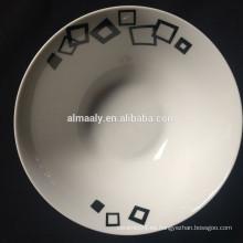 "Tazón de ensalada de cerámica de 5 ""tazón de ensalada de porcelana al por mayor"