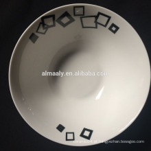 """5 """"tigela de salada de cerâmica tigela de salada de porcelana por atacado"""
