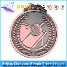 Médaille de la médaille du prix de la médaille des sports métalliques de conception nouvelle