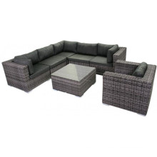 Resin Wicker Garden Outdoor Lounge Patio Furniture Rattan Sofa Set