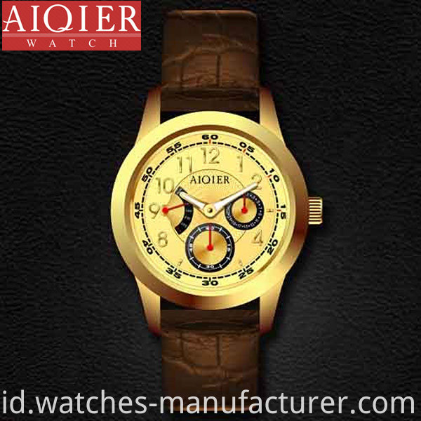Men Stainless Steel Classic Wrist Watch