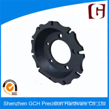 Durable Precision Rotor Bell Car Spare Part Machining with Black Anodized