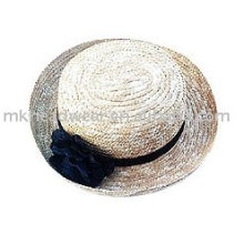 Fashion straw hat with grass cincture