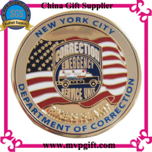 На заказ Металлическая армейская монета для подарочного сувенира