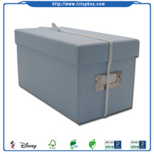 Tyg Display Skobox Papper Stackable