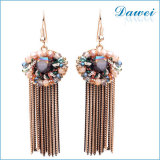 Wholesale 2014 New Design Alloy Flower Earrings For Women 2015