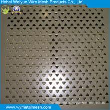 Muitos tipos de formatos de orifícios para chapas de metal perfuradas